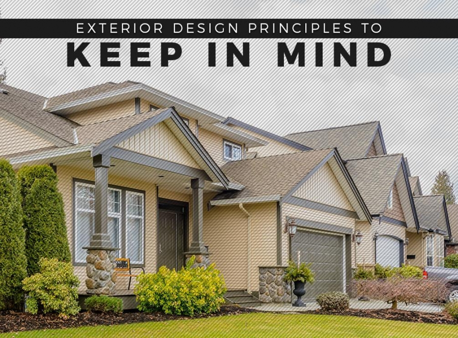 Exterior Design Principles to Keep in Mind