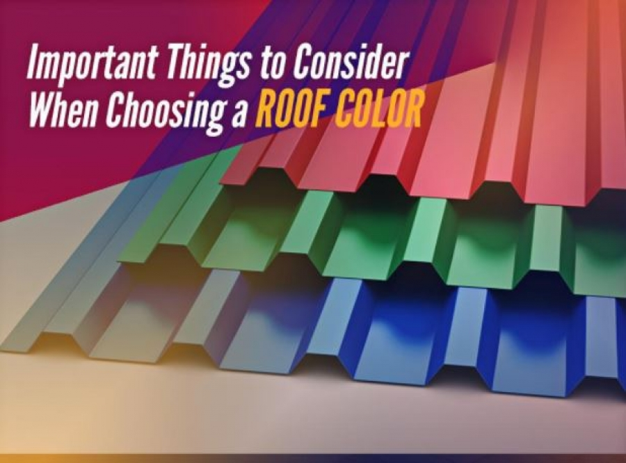 Important Things to Consider When Choosing a Roof Color