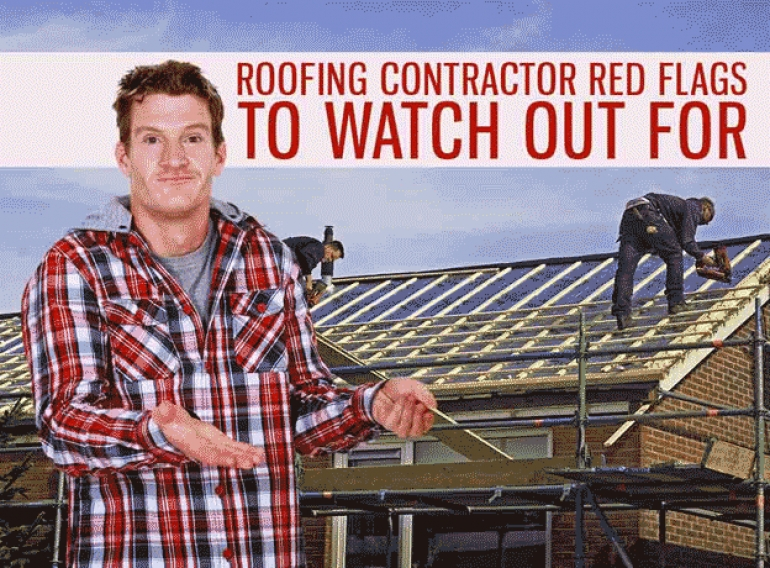 Roofing Contractor Red Flags