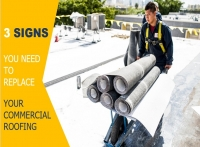 3 Signs You Need to Replace Your Commercial Roofing